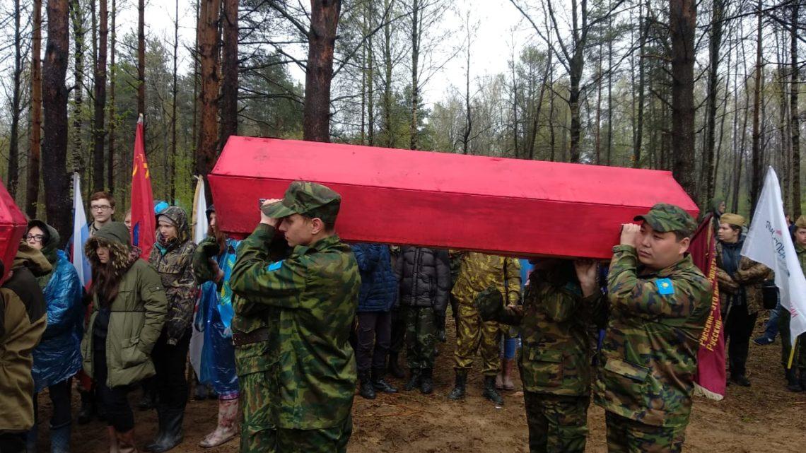 Захоронения в Синявино. 7 мая 2019