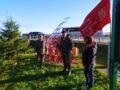 Высадка кедров у памятника «Звезды-Журавли»